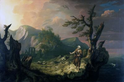 The Bard by Thomas Jones, 1774