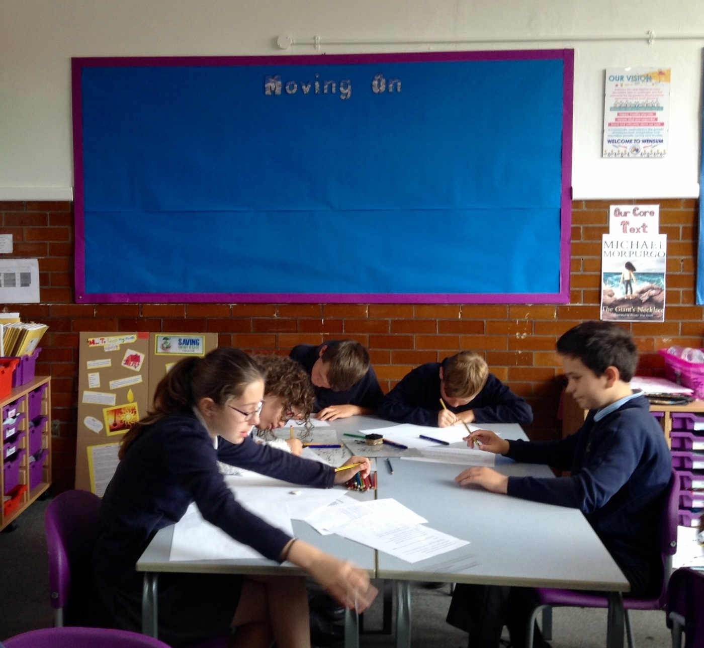 Students at Wensum Primary Year 6