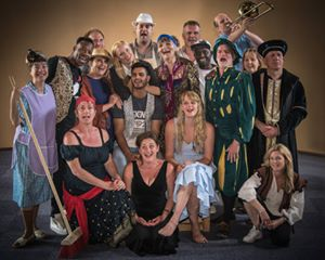 Come Yew In! Cast Photo